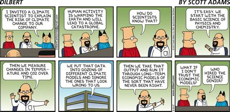Garage Logic Podcast by The Dilbert Quot Climate Change Quot Comic 1500 Espn