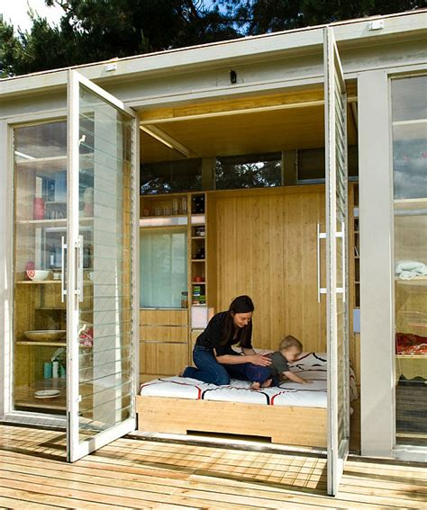 home design story friends compact and sustainable port a bach shipping container