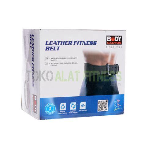 Sabuk Untuk Fitness sculpture sabuk fitness kulit size m toko alat fitness