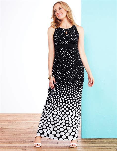 Maxi Lilin Polka Dress Maxi polka dot print maxi dress cleo