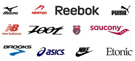 athletic shoes brands logos sport shoes brand logo www pixshark images
