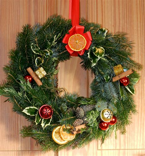 christmas door wreath kit large