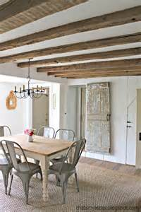 exposed ceiling beams that s my letter ceiling makeover how to expose wood beams