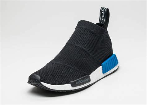 Adidas Nmd City Sock Black Blue Sock Style Shoes Adidas Nmd Cs1 City Sock Pk Black Black Lush Blue Asphaltgold