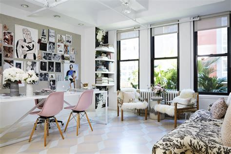 new york home design magazines s new york office decor makeover photos architectural digest