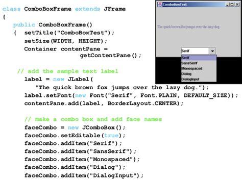 Java Swing Default Font Java Tutorial Set The Default