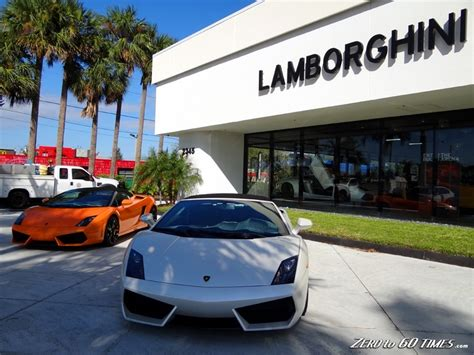 Lamborghini Dealerships In Lamborghini Dealer