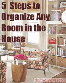 Organizing Your Space How To Organize Your Room Any Room In 5 Steps