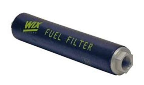 """wix complete in line fuel filter log 3/4"""" npt ends"""
