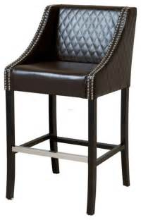 Leather Studded Bar Stools Wildon Home Bar Stool Bar Stools Counter Stools Design