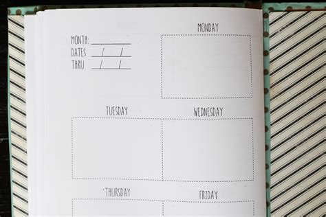 diy planner templates we can make anything diy weekly planner free template