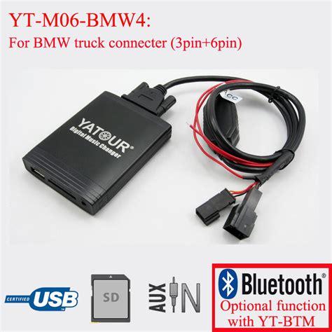 bmw bluetooth audio adapter yatour digital cd changer car stereo usb bluetooth adapter