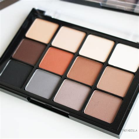 matte neutral eyeshadow palette viseart matte eyeshadow palette review swatch photos