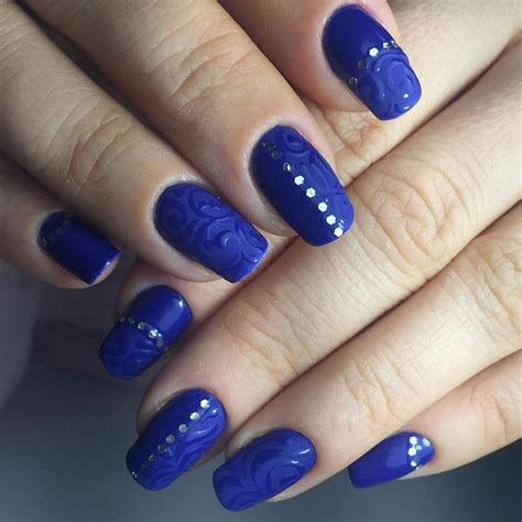 nails pattern psd blue nail designs to beauty your nails
