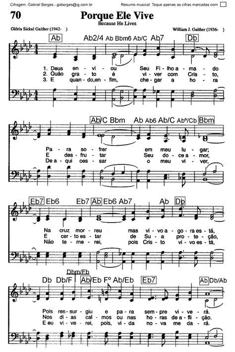 Porque Ele Vive - Hinário Adventista do Sétimo Dia – Nr