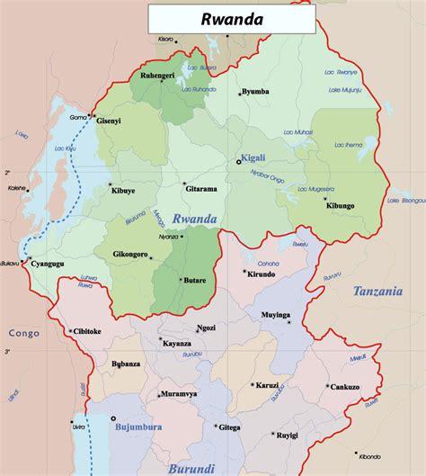 rwanda map maps of rwanda map library maps of the world