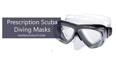 best prescription dive (snorkel) masks reviews 2018