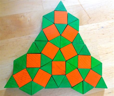pattern block tessellations exles counting number worksheets 187 tessellation pattern blocks