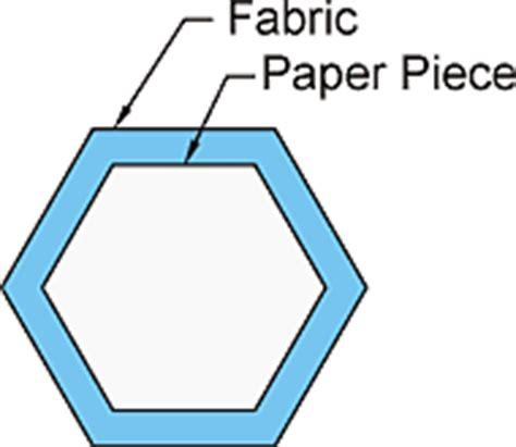 hexagon template for paper piecing cd designs basting paper piecing hexagons