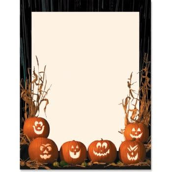 7 best images of free printable pumpkin borders free