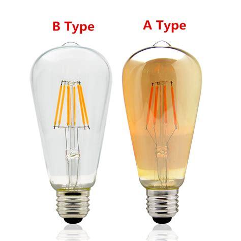 Led Light Bulbs Dimmer Ac 220v Vintage Edison Dimmer Light E27 Led Bulbs St64 Warm White 2200k 2700k Led L Dimmable