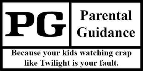 parental rating parental guidance suggests you re in trouble program