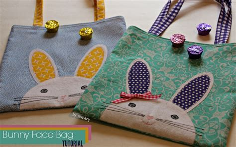 bunny rabbit sewing pattern free car tuning bunny tote bag pattern the daily seam