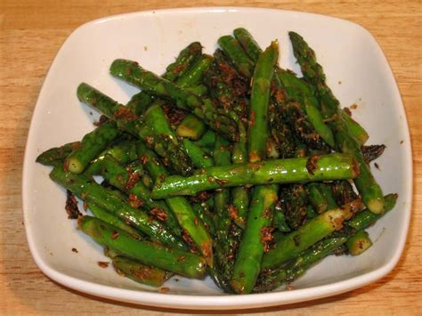dishes with asparagus asparagus with manjula s kitchen indian
