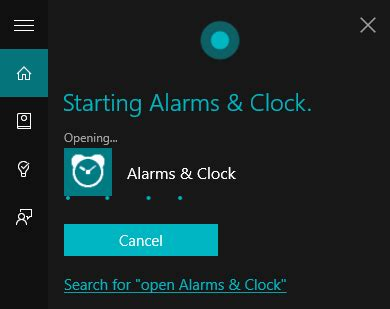 how to set edit remove alarms in windows 10