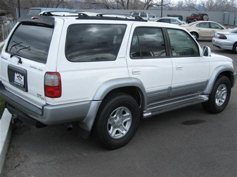 Toyota Four Runner 2000 For Sale 2000 Toyota 4 Runner Limited