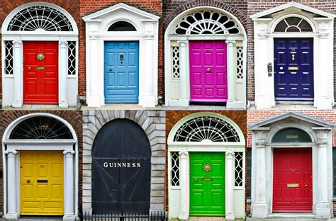 colorful doors colour ideas for painting your front door