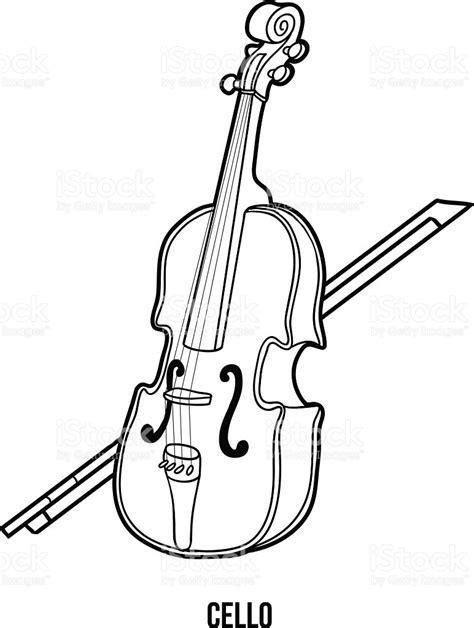 Libro Para Colorear Con Los Niños Instrumentos Musicales