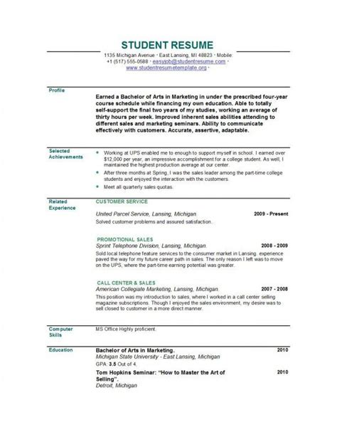 Recent Graduate Resume Template by Resume Exles Recent Graduate Search Office