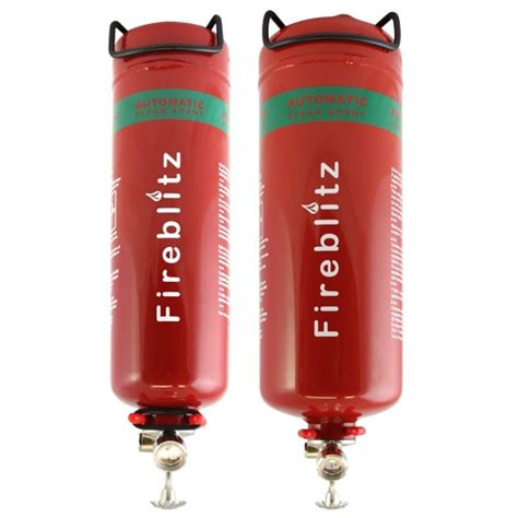 Door Drapes Automatic Fe36 Fire Extinguisher Residue Free