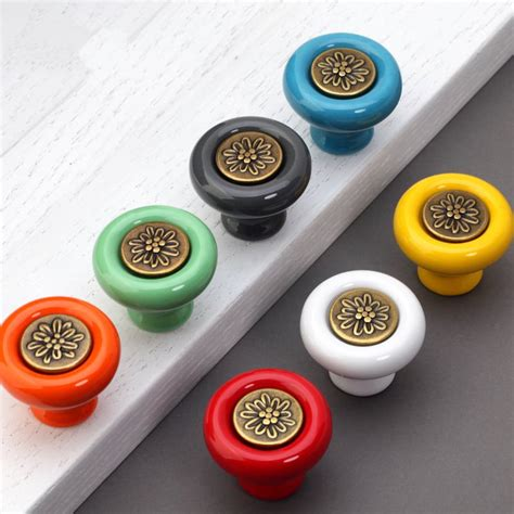 Colorful Kitchen Cabinet Knobs Colorful Knobs Kitchen Cabinet Door Knobs Dresser Knobs Pulls