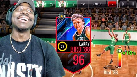 This Is Where Laurence Lives by 96 Ovr Larry Bird Shooting The Lights Out Nba Live Mobile