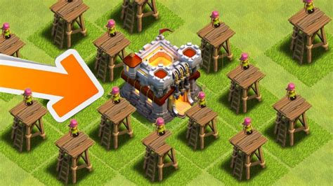 clash of clans town hall clash of clans worst town hall 11 in history omg how
