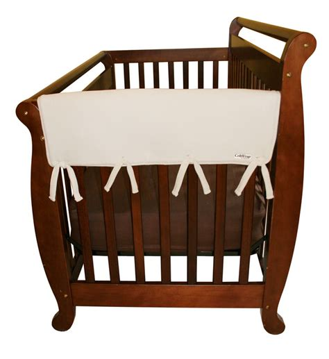 Are Crib Rail Covers Safe by Trend Lab Fleece Cribwrap Rail Covers For