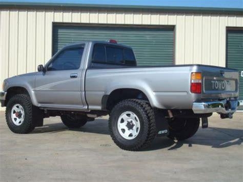 Toyota Tacoma 1994 Sell Used 1994 Toyota Tacoma 4x4 Regular Cab 4 Cylinder 5