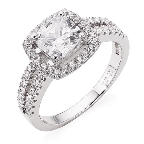 luxurious collections of silver wedding rings - Eheringe Silber Mit Diamant