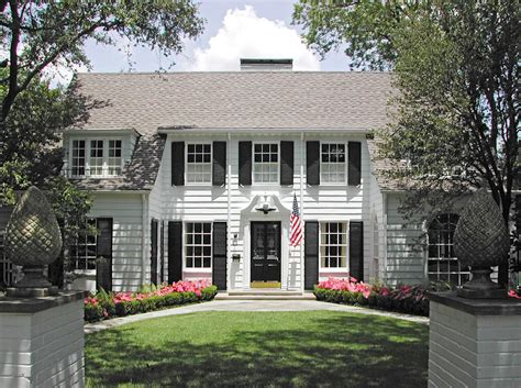 colonial revival a great architect can make an ugly duckling into a swan