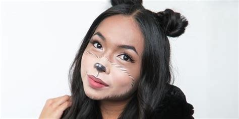 bear halloween makeup  easy teddy bear costume makeup