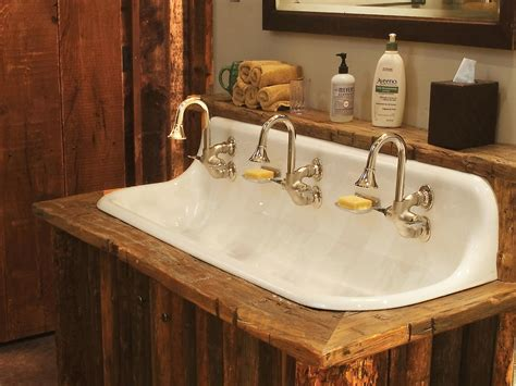 bathroom sink with two faucets how to style bathroom with one sink two faucets design