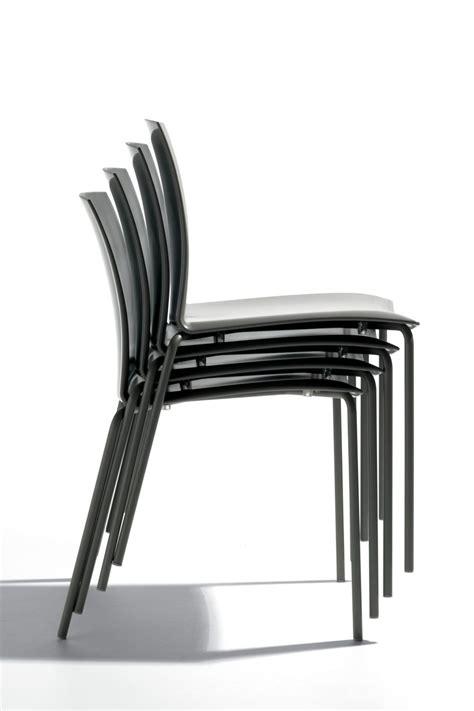 sedie metallo futura sedia impilabile bontempi casa in metallo e