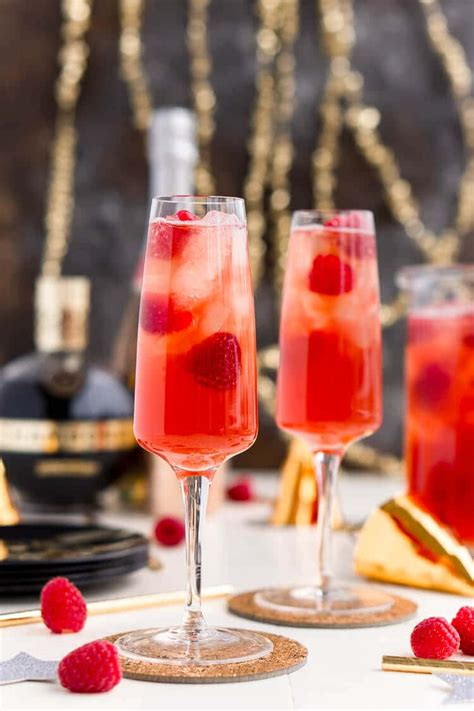 new year punch lines chagne punch recipe dishmaps