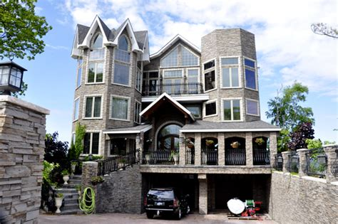four story house 4 story house 4 storey home elevation design gharexpert