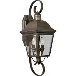 Lowes Patio Lighting Shop Progress Lighting Andover 21 25 In H Antique Bronze