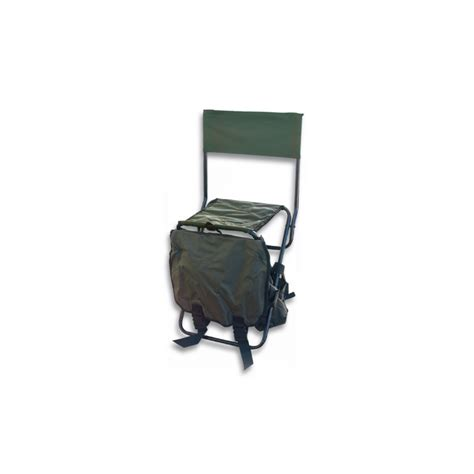 siege chasse sac 224 dos si 232 ge avec dossier sarl magas quot chasse nature quot
