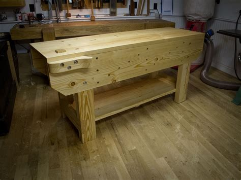 wood   workbench features  suitable