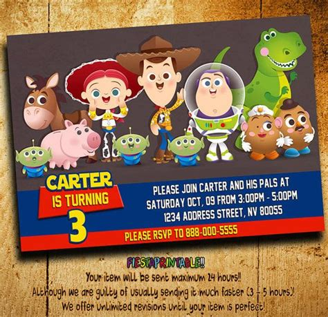 Toy Story Giveaways - 17 best ideas about toy story invitations on pinterest toy story party toy story